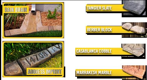 Curb Boss - Moroccan Natural Stone Samples
