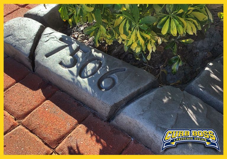 Curb Boss - Moroccan Natural Stone - Tangier Slate with Rain Drain