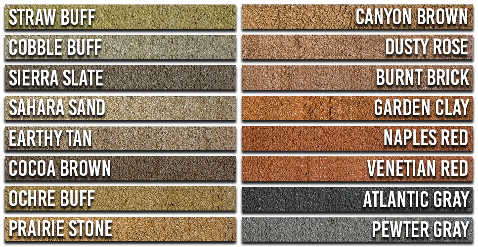 CurbColor™ Swatches